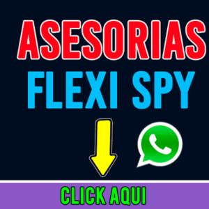 Asesorias FlexSPY Por Whatsapp